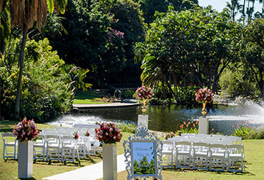 "Garden Weddings <br><span class=""subtile"">City Botanic Gardens</span>"