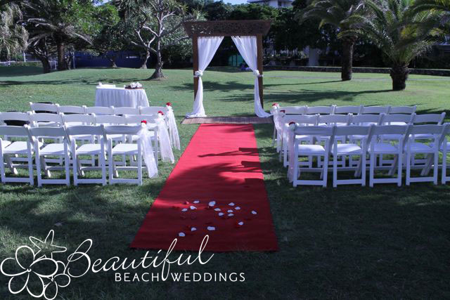 Rudd Park Wedding Burleigh Heads