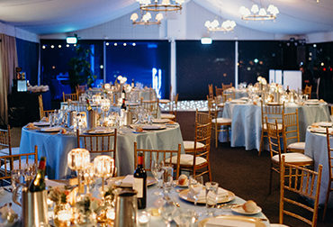 "Garden Marquee <br><span class=""subtitle"">Victoria Park Weddings</span>"