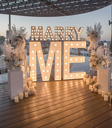 "Marry Me! <br><span class=""subtitle"">Beautiful Proposals</span>"